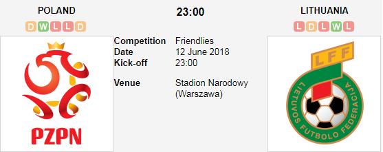 ทีเด็ดฟุตบอล กระชับมิตรทีมชาติ [8]โปแลนด์ +1.5 ลิธัวเนีย[126]
