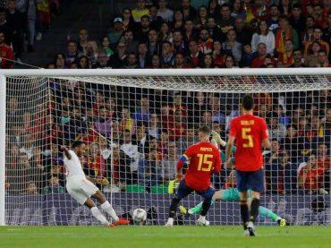 (สรุปผลเนชันส์ ลีก) สเปน เสียท่าให้ อังกฤษ – ไอซ์แลนด์ ตกชั้นหลังแพ้คารัง