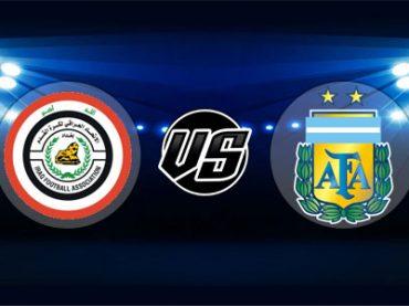 ดูบอลย้อนหลัง กระชับมิตร อิรัก vs อาร์เจนตินา 11-10-2018