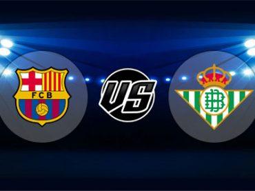 ดูบอลย้อนหลัง ลาลีกา สเปน บาร์เซโลน่า vs เรอัลเบติส 11-11-2018