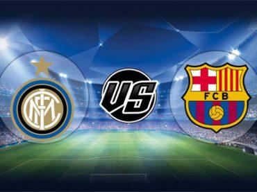 ดูบอลย้อนหลัง ยูฟ่า แชมเปียนส์ลีก อินเตอร์มิลาน vs บาร์เซโลน่า 6-11-2018