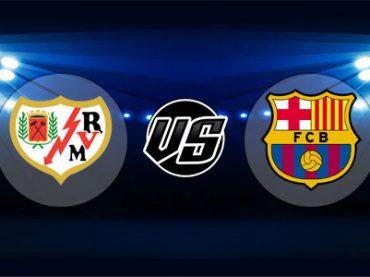 ดูบอลย้อนหลัง ลาลีกา สเปน ราโย vs บาร์เซโลน่า 3-11-2018